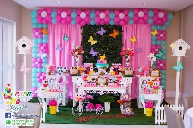 Decoração Infantil Jardim Encantado Cha de Bebe Cha de Fralda