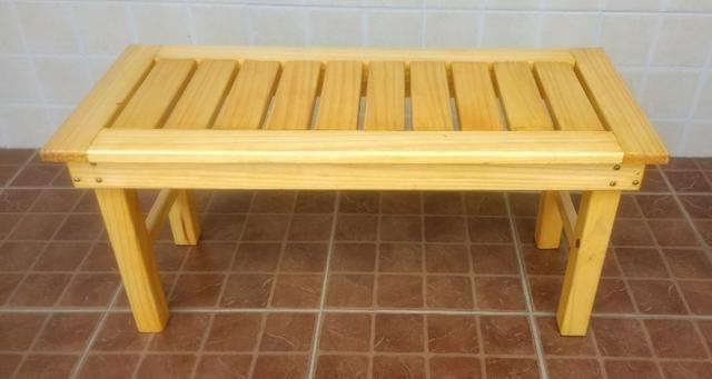 Banco de madeira maciça - Foto 5