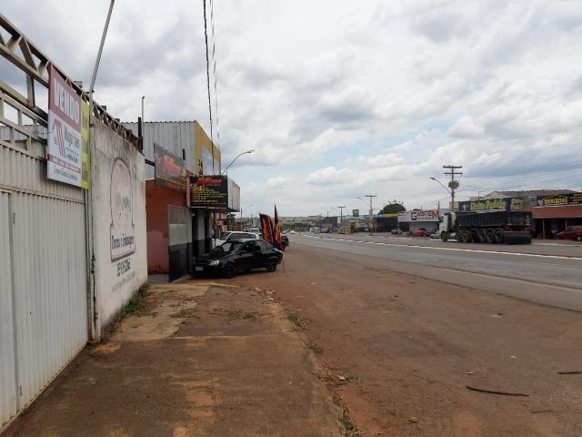 600 metros quadrados área 100% comercial de frente para GO 070 em Goianira urgente ! - Foto 3