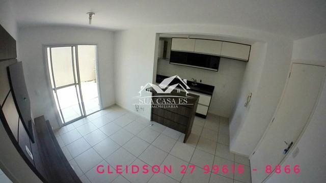 GM - Lindo Apartamento com Quintal Condomínio Club Villaggio Laranjeiras - ES - Foto 3