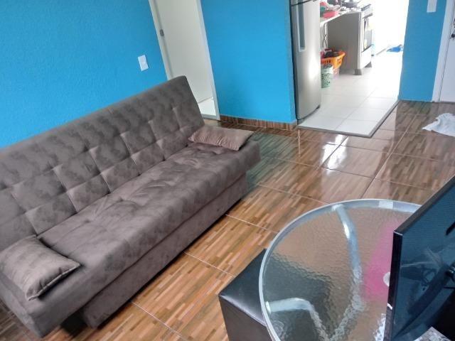 Alugo quarto em apartamento de 2 dormitórios mobiliado - Foto 6