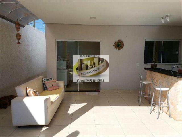 Casa à venda com 3 dormitórios em Ipê, Três lagoas cod:294 - Foto 6