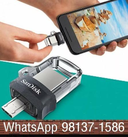 Pen drive pc e celular 32 GB - Foto 2