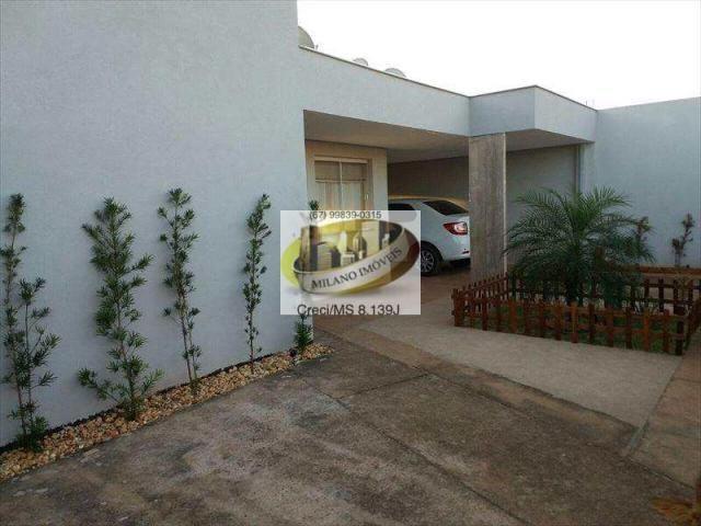 Casa à venda com 3 dormitórios em Ipê, Três lagoas cod:294 - Foto 3