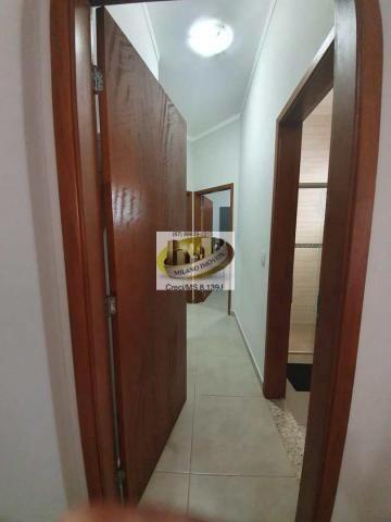 Casa à venda com 3 dormitórios em Parque são carlos, Três lagoas cod:408 - Foto 10