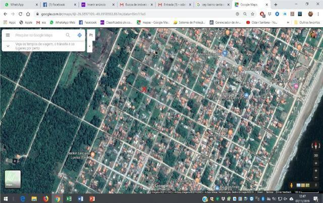 Terreno Escriturado São Francisco Do Sul Esquina Pronto Para Construir