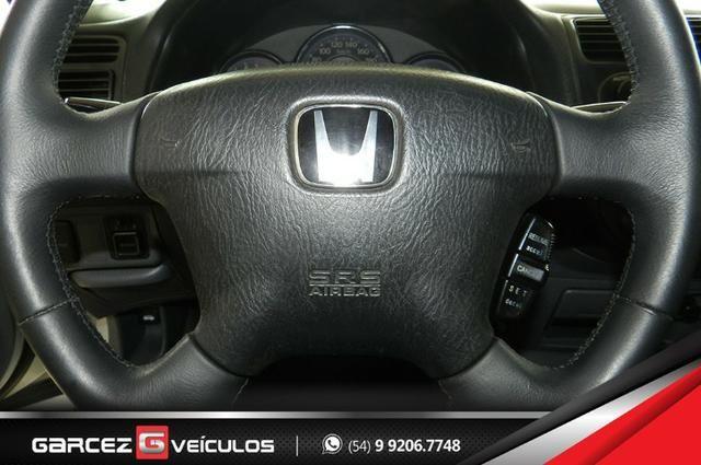 Honda Civic EX 1.7 Automático Completíssimo Legalizado Baixo - Foto 12