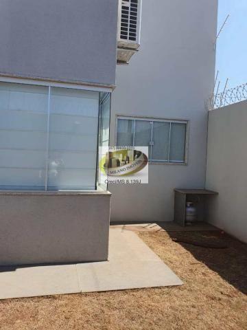 Casa à venda com 3 dormitórios em Parque são carlos, Três lagoas cod:408 - Foto 7