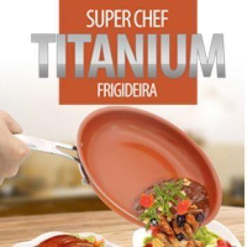 Frigideira Super Chef Titanium Novo
