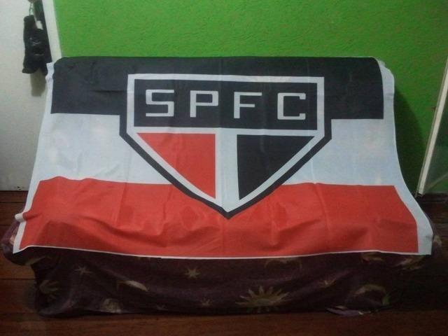 Bandeira do São Paulo F.C 160cm x 45cm