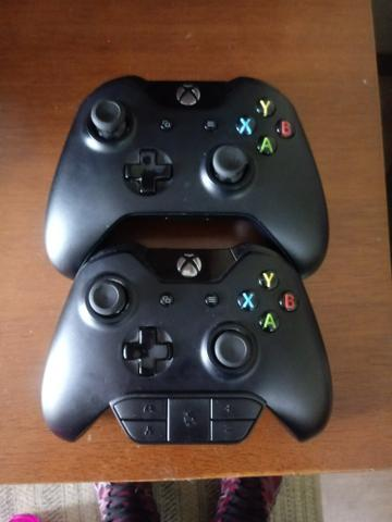 Controles de xbox one (placa queimada)