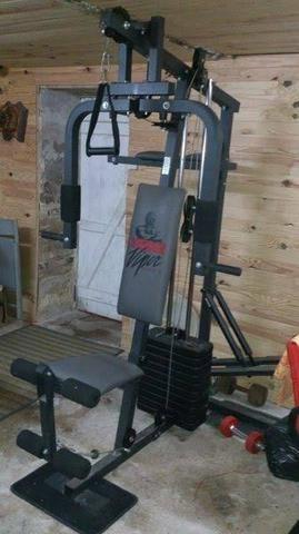 Estação de Musculação Completa Levar hoje!