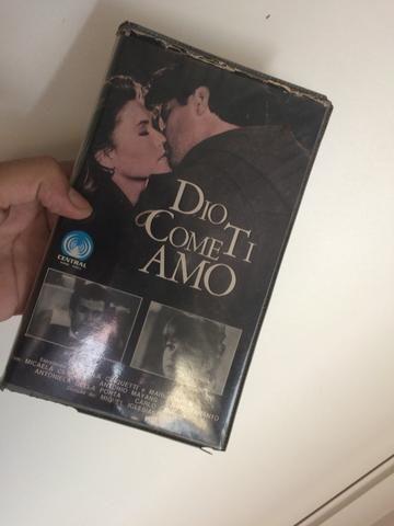 Filme Dio Come Ti Amo em VHS