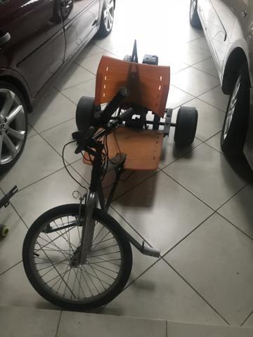 Trike motorizada motor Honda 4 tempos