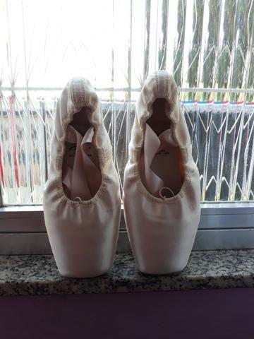 172d1f4889 Sapatilha de ponta capezio nº 40 -cor rosa - Roupas e calçados ...