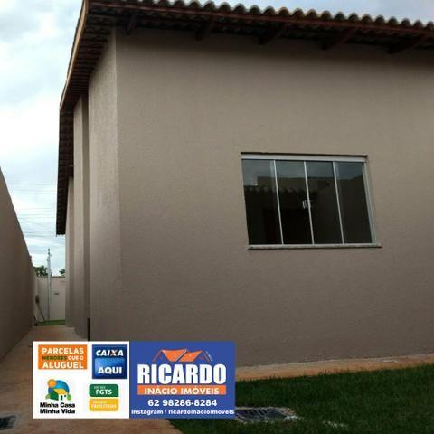 Casa 2/4 Em Goiânia com Amplo Quintal, Aceita Financiamento - Foto 2
