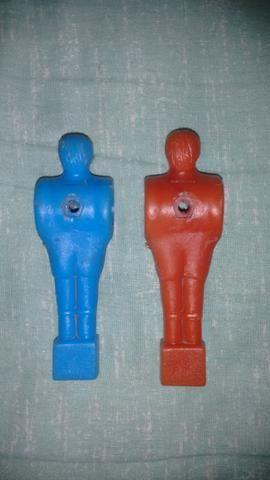 Boneco Pebolim Azul 10,0 Cm Vermelho 10,4 Cm R$ 20,00 Os Dois - Foto 2