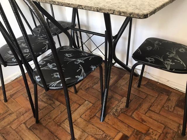 Conjunto Mesa Retangular com 4 Cadeiras Cadeiras - Foto 5