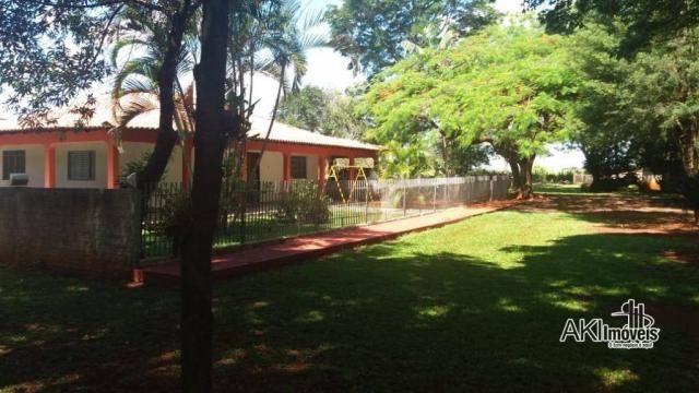 Chácara com 3 dormitórios à venda, 10.000 m² por R$ 1.100.000 - Área Urbanizada II no Anel - Foto 4
