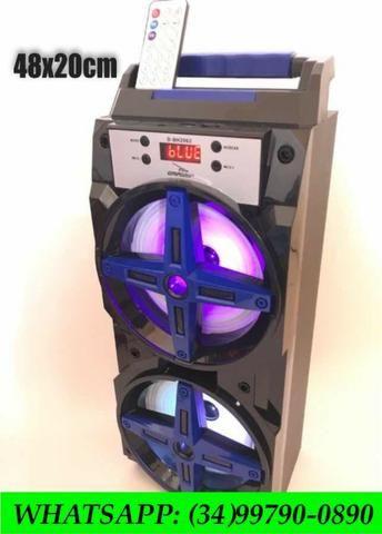 Caixa de Som Bluetooth 24 watts com controle