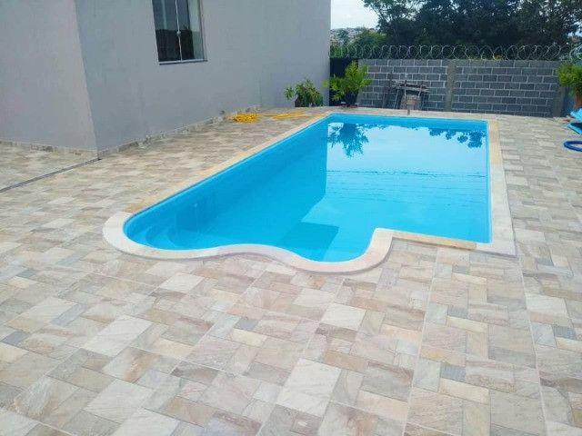 TA- Super queimão piscina de fibra 6 metros Alpino - Direto de fábrica - Foto 2