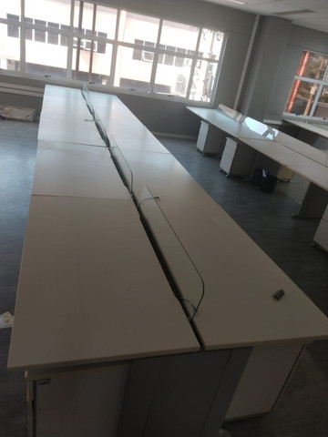 Mesa de Escritório - Conjunto 10 mesas Excelente qualidade - Foto 4