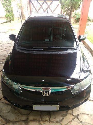 """"""" Lindo Honda Civic Lxs 1.8 Automático Flex 2009/2010 completo.'' - Foto 6"""