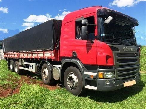 Scania P310 bitruck - 2015/2016 - vermelho - Foto 8