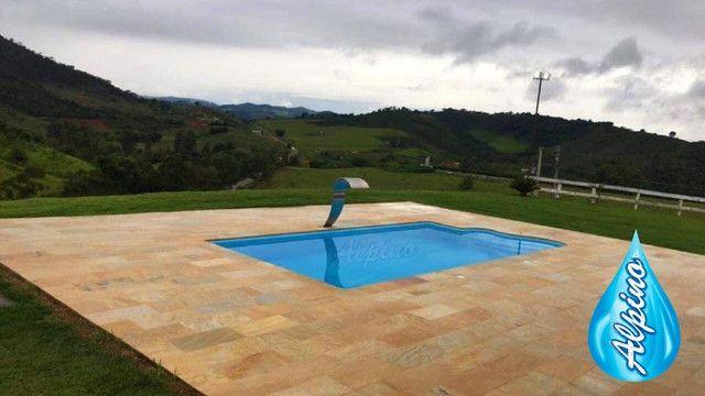 TA - Queimão de piscina de fibra Alpino - Fabricação própria MG Piscinas - Foto 2