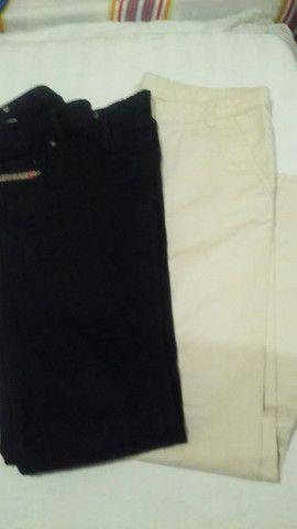 Calças masculina para adolescente (semi novas)