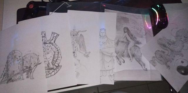 Vendo desenhos e faço desenhos - Foto 5