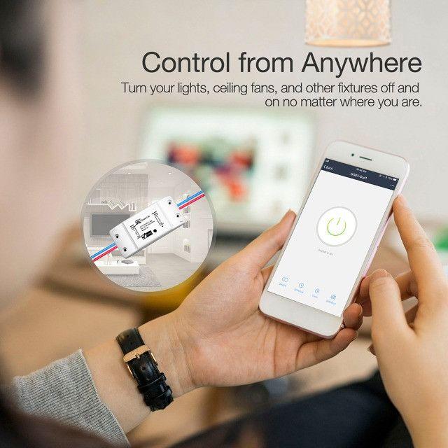 Smart Switch Moes Melhor que Sonoff Automação Alexa Google Home - Foto 5