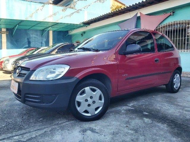 Chevrolet Celta 1.0 Life 2008 Ar Cond. + Direção + GNV  - Foto 3