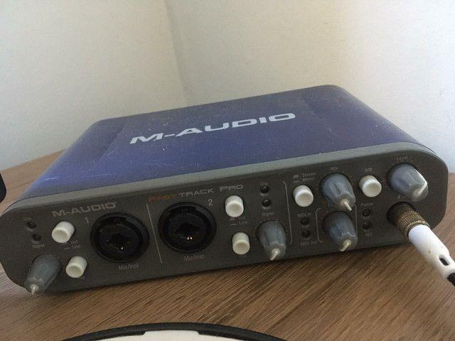 Interface de Áudio <br>M-AUDIO Fast Track Pro - Foto 2