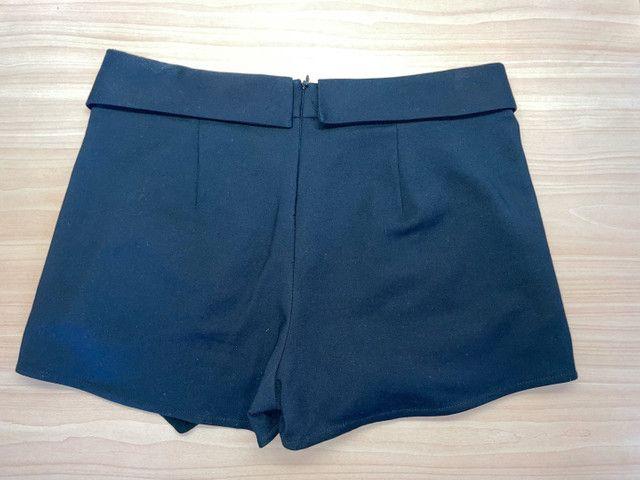 Short-saia preto Zara  - Foto 2