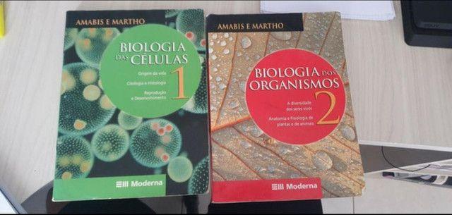 Livros Amabis e Martho (biologia) usados - Foto 3