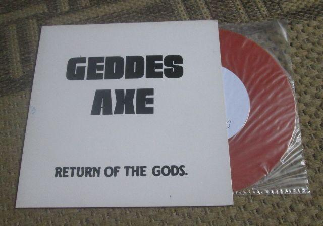 Geddes Axe Return Of The Gods