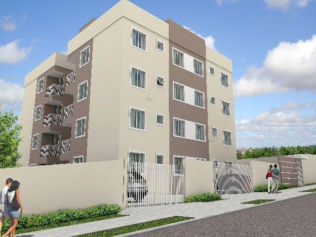 Apartamento mobiliado em Ponta Grossa, 02 quartos