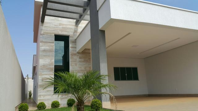 Casa nova 3quartos 3 suítes piscina churrasqueira rua 8 Vicente pires - Foto 2