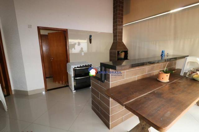 Sobrado com 4 dormitórios à venda, 380 m² por R$ 1.600.000,00 - Residencial Granville - Go - Foto 15