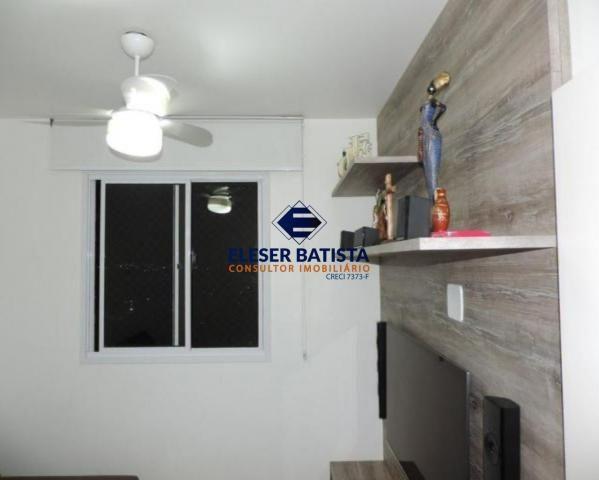 Apartamento à venda com 3 dormitórios em Villaggio limoeiro, Serra cod:AP00224 - Foto 3