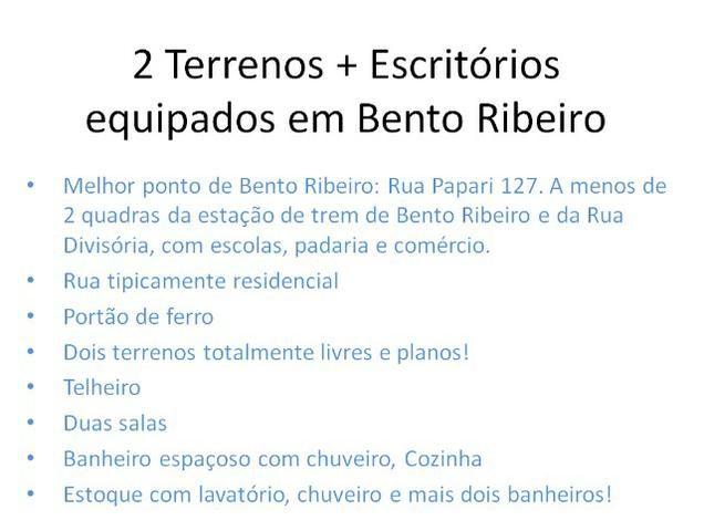 Dois terrenos + Escritório Melhor ponto de Bento Ribeiro - Foto 16