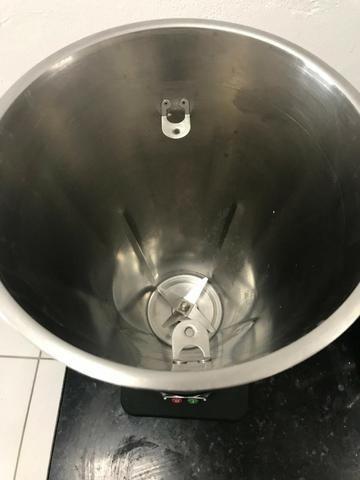 Liquidificador Skymsen inox, alta rotação, 4 litros, copo monobloco inox - Foto 3