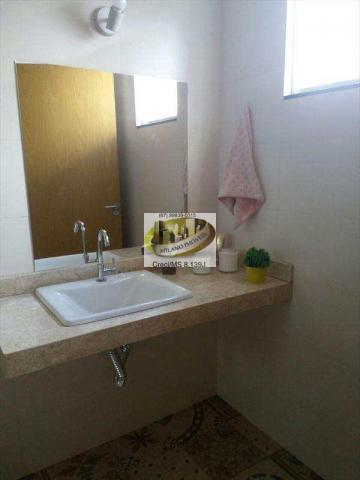 Casa à venda com 3 dormitórios em Ipê, Três lagoas cod:294 - Foto 14