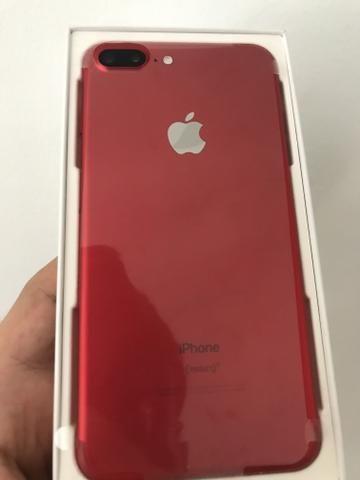 IPhone 7 Plus 128gb Nas cores Rosé, Red e Preto, Aparelhos em Estado de Zero Na caixa - Foto 2
