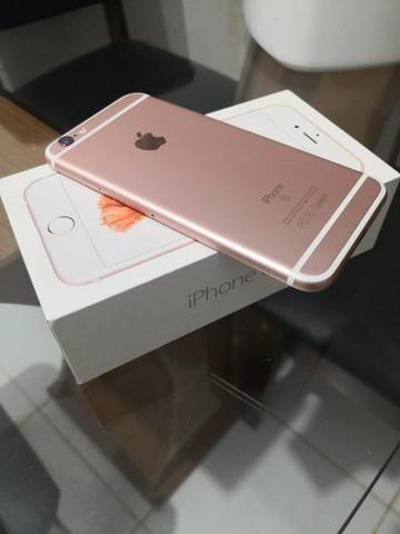IPhone 6s 64GB Rosê ACEITO CARTÃO