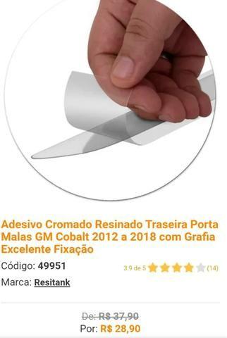 Filtro de Ar Cond + Soleiras + Adesivo Mala - Foto 3