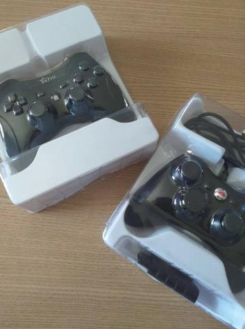 Controles para computador, com e sem fio, Xbox e PS3