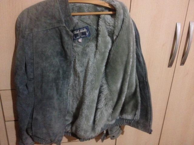 Jaqueta de couro argentino