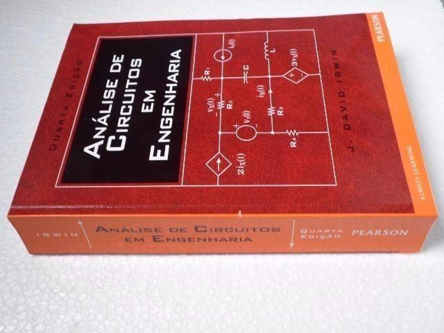 Análise De Circuitos Em Engenharia - J. David Irwin - 4ª Edição - 2008 - Foto 2
